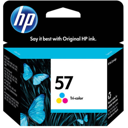 HP 57 Tri-color Original Ink Cartridge (C6657AN) by HP