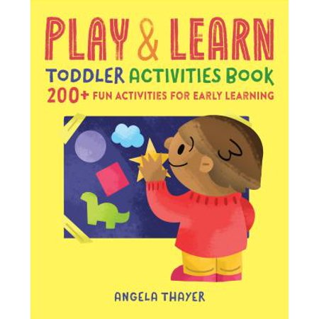 Play & Learn Toddler Activities Book : 200+ Fun Activities for Early - Halloween Activities For Toddlers In Atlanta