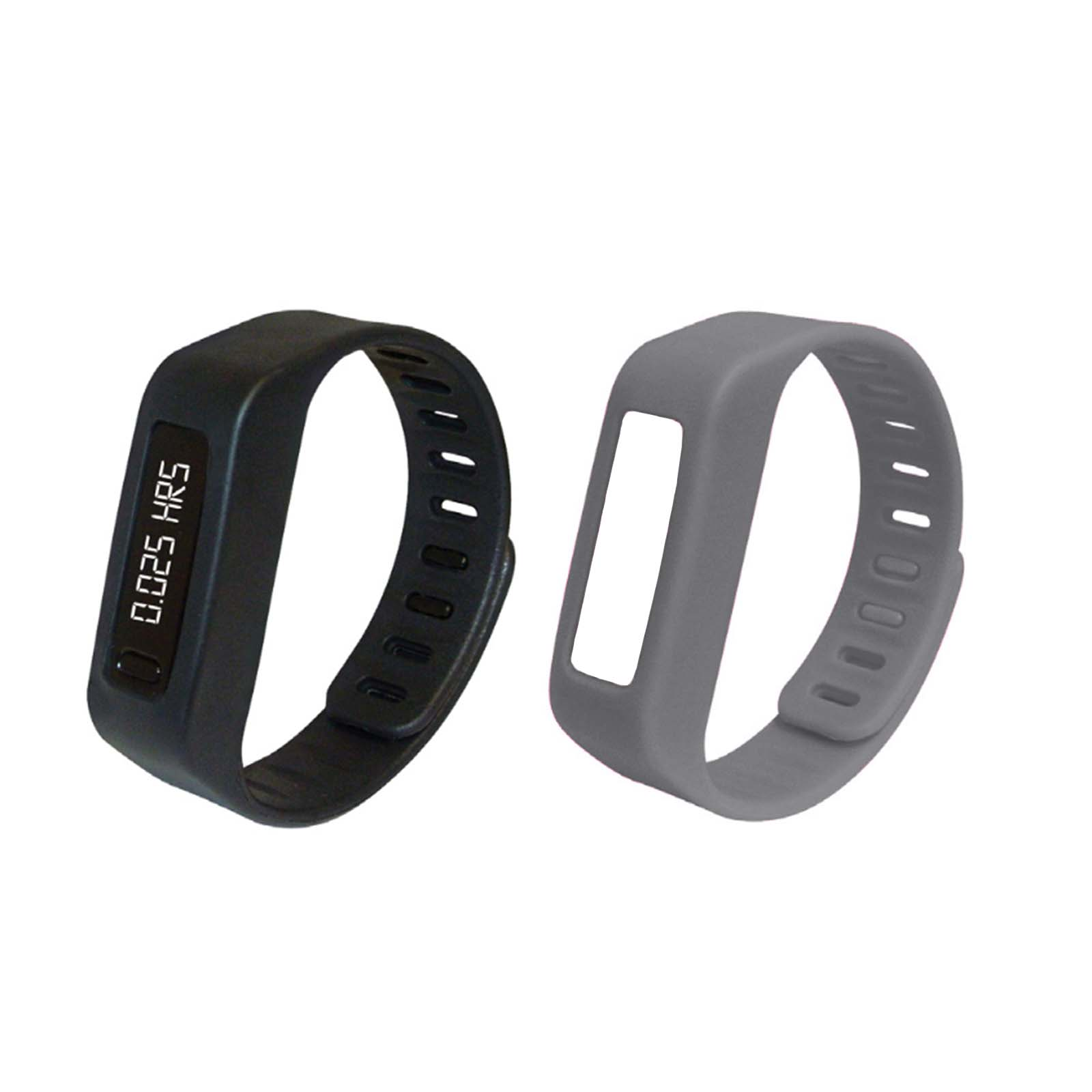 Naxa LifeForce+ Fitness Watch for IOS and Android- Gray