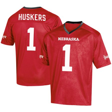 Men's Russell #1 Scarlet Nebraska Cornhuskers Fashion Football Jersey](Personal Football Jersey)