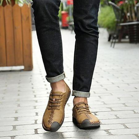 leisure moccasins men casual youth fashion flat heel