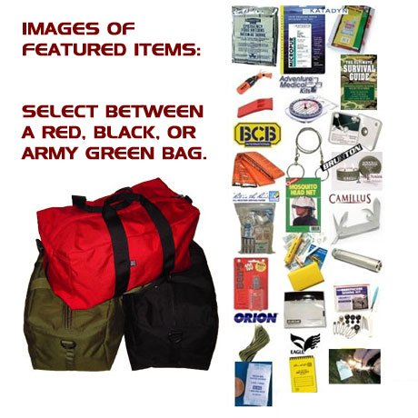 emergency kit, survival kit by