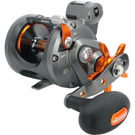 Okuma Cold Water Line Counter Trolling 4.2:1 Conventional Reel, Right Hand -