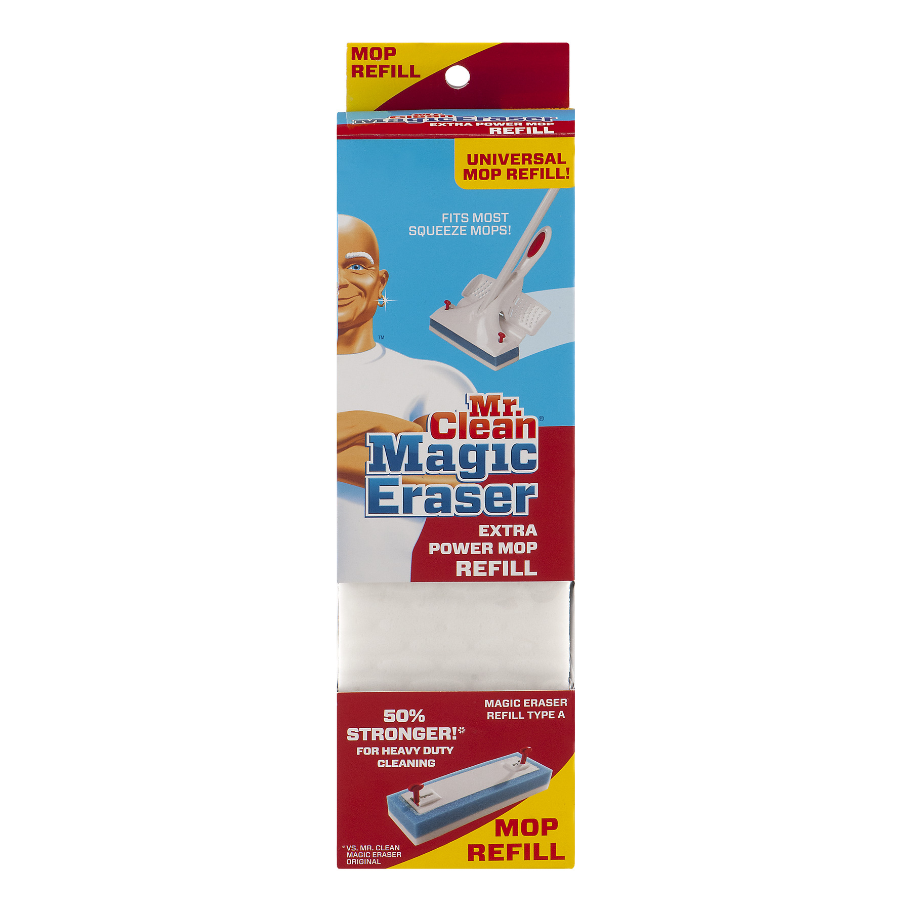 Mr. Clean Magic Eraser Extra Power Mop Refill, 1.0 CT