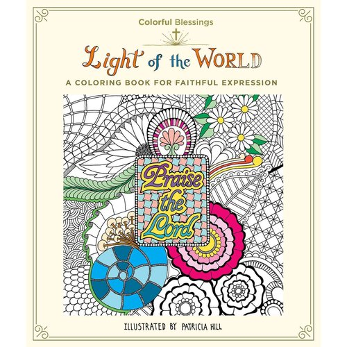 Light of the World: A Coloring Book for Faithful Expression