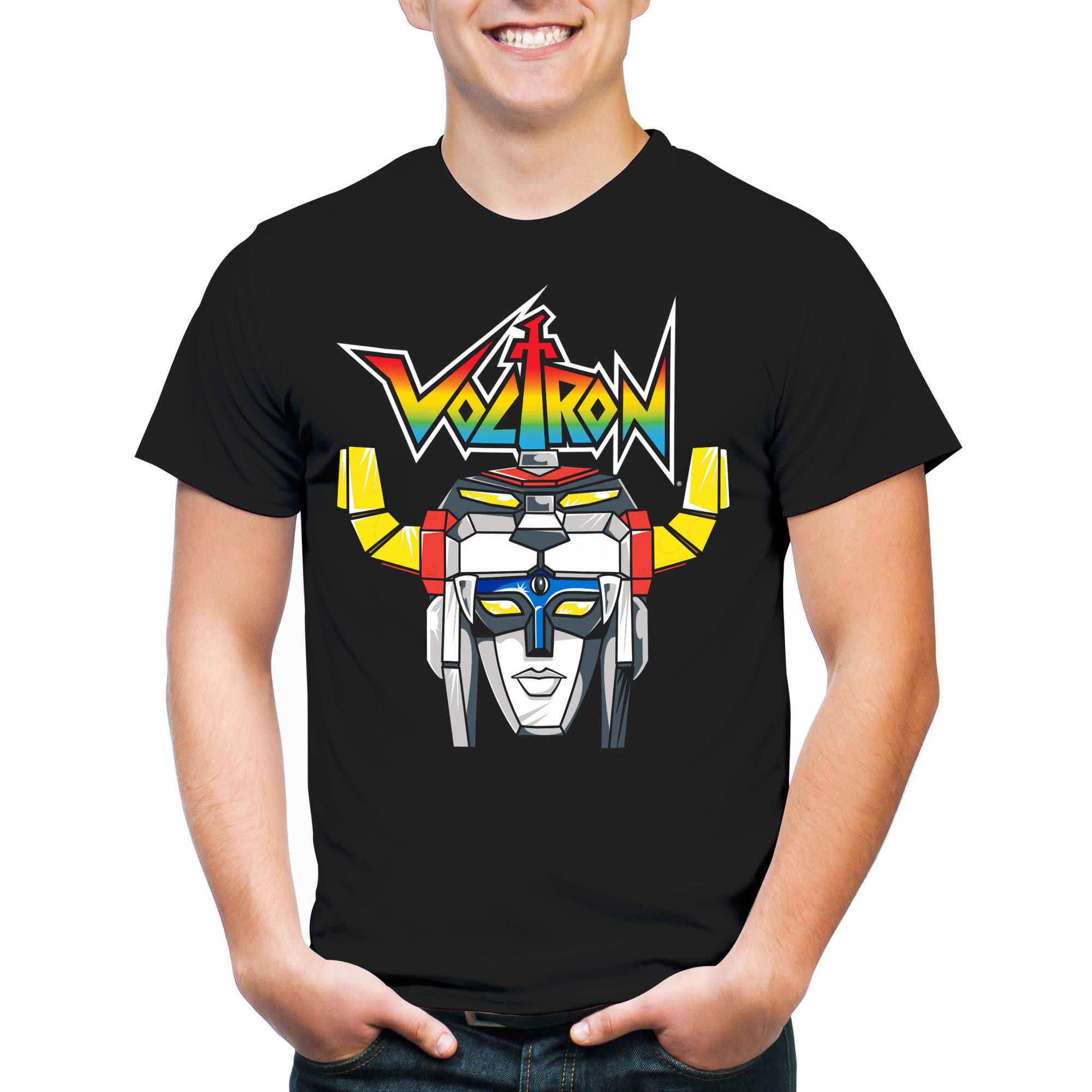 Voltron Logo Men's Graphic Tee