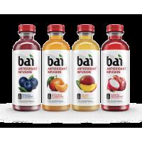 Bai Antioxidant Infused Beverage, Rainforest Variety Pack, 18 Fl Oz, 12 Ct