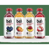 Bai Antioxidant Infused Beverage, Rainforest Variety Pack, 18 Fl Oz, 12 Count