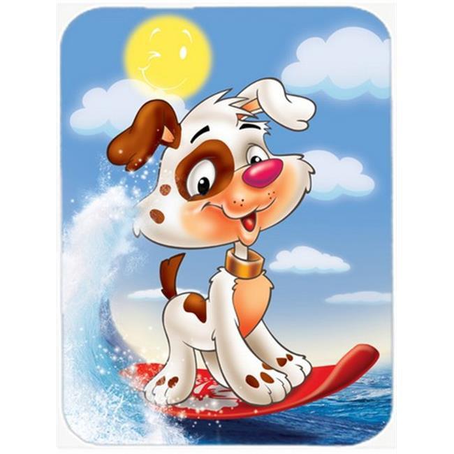 Carolines Treasures APH7227LCB Dog Water Skiing Glass Cutting Board, Large - image 1 de 1