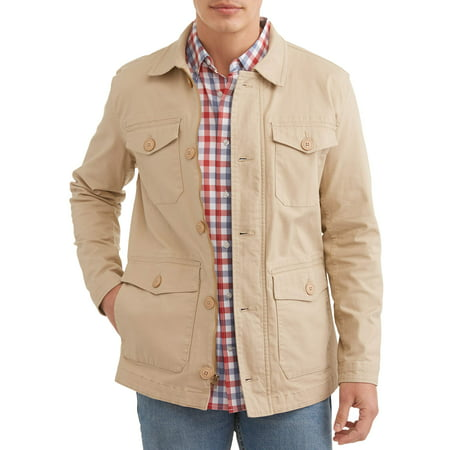 George Men's Spring Field Jacket, up to size 3XL - Steampunk Jacket Mens