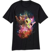 Spongebob Space Men's Graphic Tee