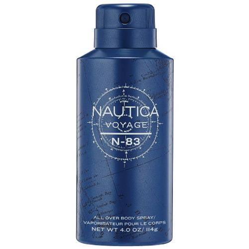 Nautica Voyage N-83 All Over Body Spray, 4 oz