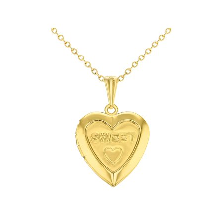 and locket diamond two gold yellow heart htm lockets shaped children with photos holds for necklace small genuine