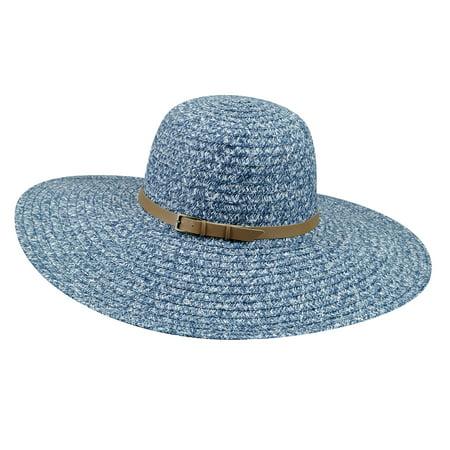 Betmar Female Ramona Straw Braid Floppy Hat