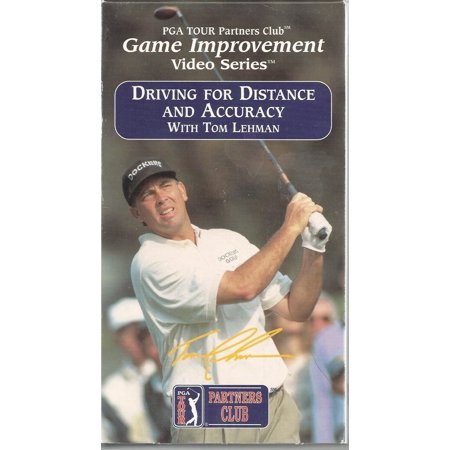 Tom Lehman Memorabilia - DRIVING FOR DISTANCE AND ACCURACY WITH TOM LEHMAN vhs
