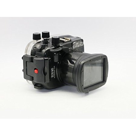 Polaroid SLR Dive Rated Waterproof Underwater Housing Case For The Canon M3 Camera with a 18-55mm Lens
