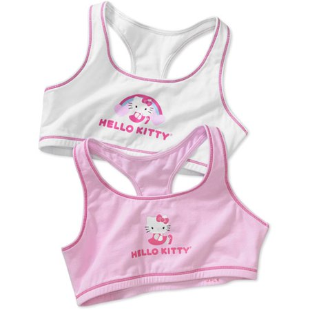 Hello Kitty - Girls' Training Bra, 2-Pack - Walmart.com