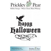 Prickley Pear Cling Stamps 2.5 Inch X 2 Inch-Crows Halloween