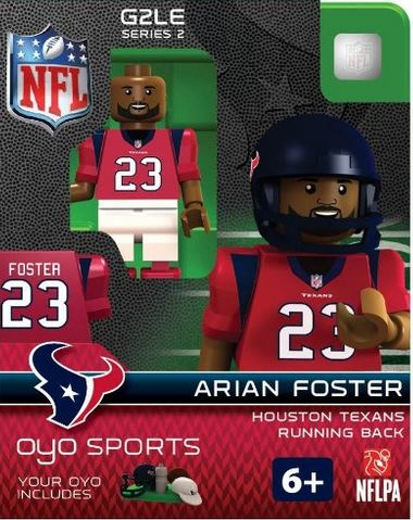 NFL Generation 2 Series 1 Arian Foster Minifigure