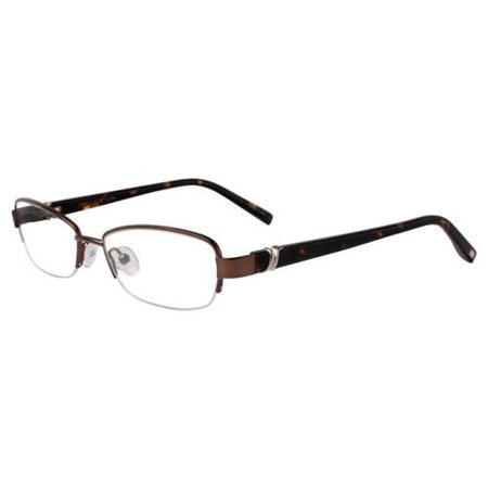JONES NEW YORK Eyeglasses J477 Brown 53MM