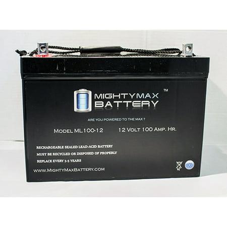 12V 100Ah Sla Agm Battery For Minn Kota Vantage 101 Motor
