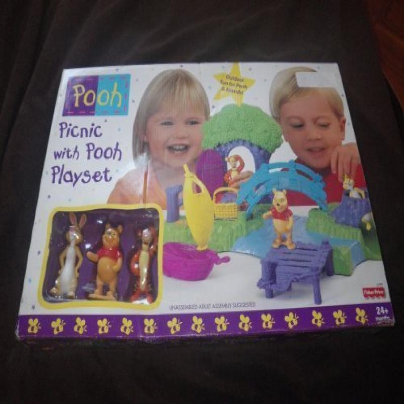 NEW Box Disney Fisher Price Picnic with Pooh Rabbit & Tig...