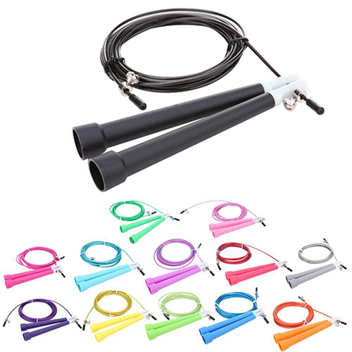 HiCoup Speed Wire Skipping Adjustable Jump Rope Boxing Fitness Sport Exercise Equipment