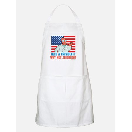 CafePress - Futurama Why Not Zoidberg Apron - Kitchen Apron with Pockets, Grilling Apron, Baking - Zoidberg Mask