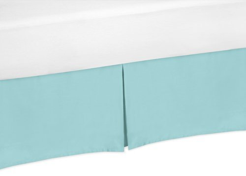Sweet Jojo Designs Turquoise Twin Bed Skirt For Modern Emma Children S And Teen Bedding Sets Walmart Canada