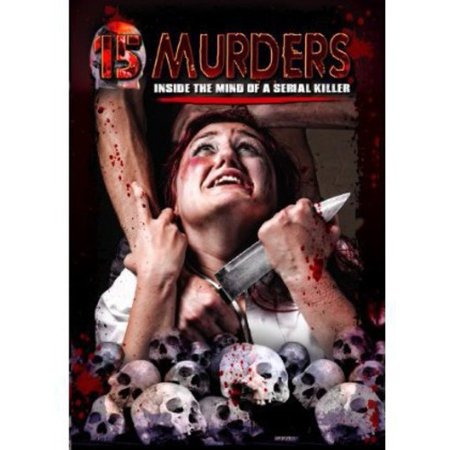 15 MURDERS-INSIDE THE MIND OF A SERIAL KILLER (DVD) (DVD) (Latest Serial Killer Movies)