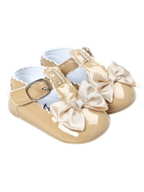 9f7ed5af44312 Product Image BOBORA Summer Toddler Baby Girl Bow Anti-slip Crib Shoes Soft  Sole Prewalker 0-