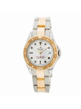Pre-Owned Rolex Yacht-master 68623 Steel  Watch (Certified Authentic & Warranty)