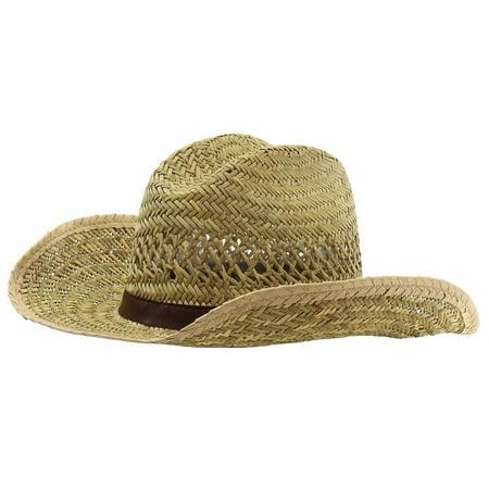 Dorfman Pacific Satin Hat (Dorfman Pacific Men's Natural Rush Shapeable Western Hat Sz: S)