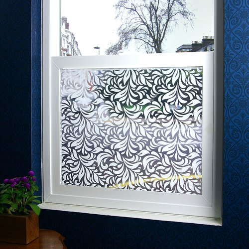 Stick Pretty Carlyle Sheer Window Film