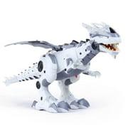 Mist Spray Remote Control Dinosaur Robot Singing Electronic Pets Toy For Kids Walking Dinosaur Fire Breathing Water Spray Mist