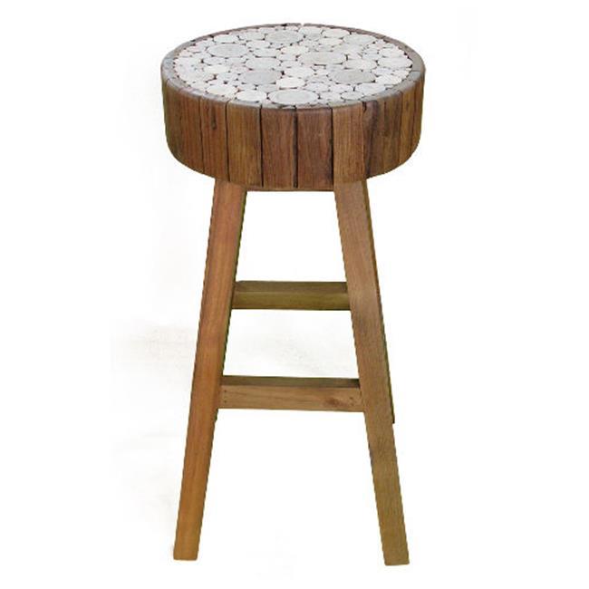 Groovystuff Tf 0964 30 Eucalyptus Bar Chair Walmart Com