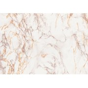 Brewster 346-0120 Brown And Gold Marble Adhesive Film - Gold