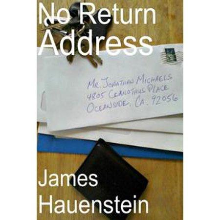 No Return Address - eBook](warehouse deals inc return address)