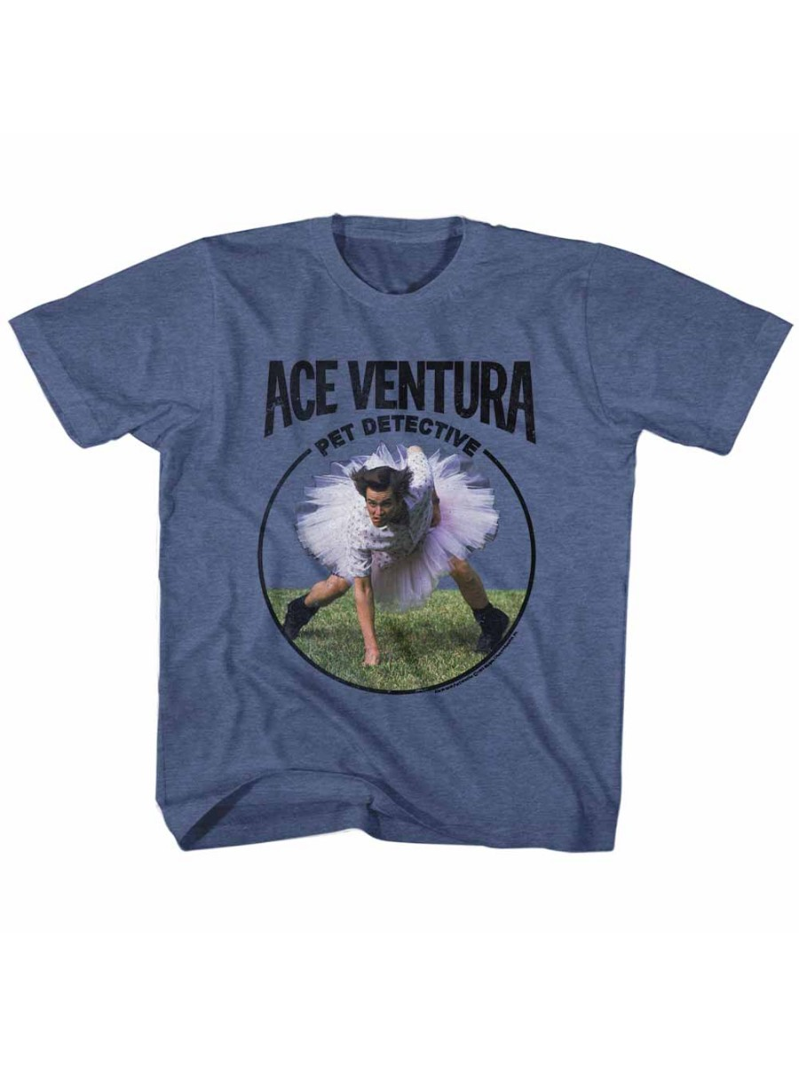 Ace Ventura Pet Detective Comedy Movie Jim Carrey Tutu Little Boys T-Shirt Tee