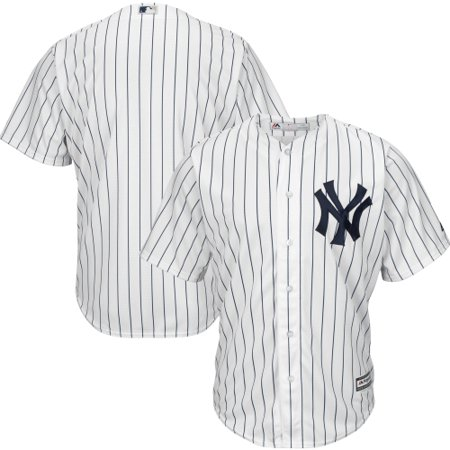 - New York Yankees Majestic Big & Tall Cool Base Team Jersey - White