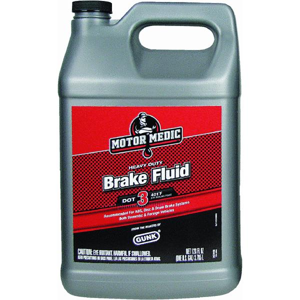 MotorMedic Heavy-Duty Brake Fluid