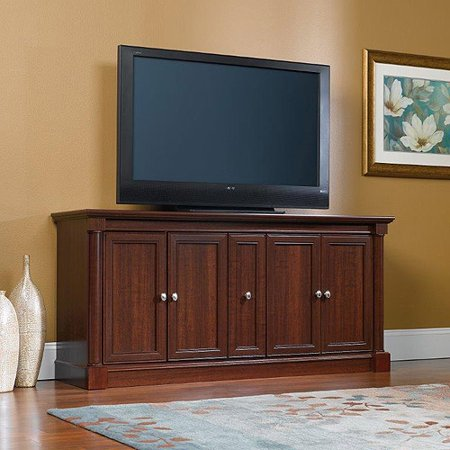 Sauder Palladia TV Stand for TVs up to 70;, Select Cherry