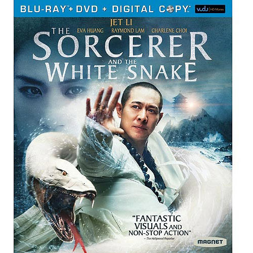 The Sorcerer And The White Snake (Blu-ray + DVD + VUDU Digital Copy) (Walmart Exclusive) (Widescreen)