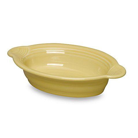 Fiesta Ceramic Oval Individual Casserole Dish 17 oz. in (...