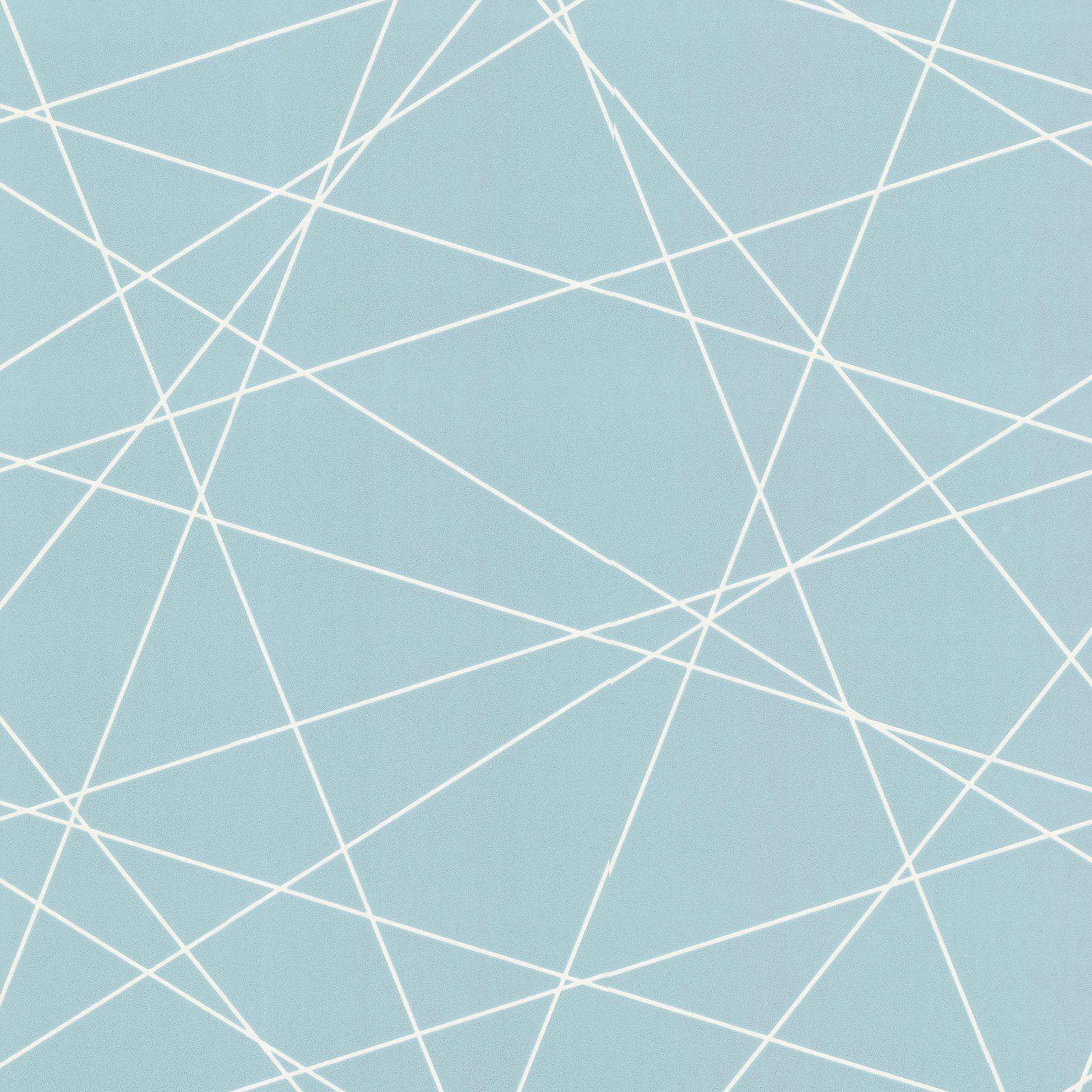 Decorline Magritte Light Blue Criss Cross Geo Wallpaper Walmartcom
