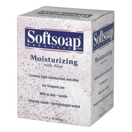 Softsoap Refill Cartridge Liquid Soap   27 1 Fl Oz  800 Ml    Moisturizing   1 Each  01924Ea