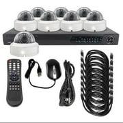 LTS LTN0882K-8D CCTV Kit,All In One,12VDC,1 TB