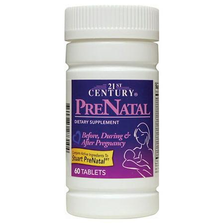 21st Century Comprimés prénatale pour les femmes enceintes 60 Ea Femmes