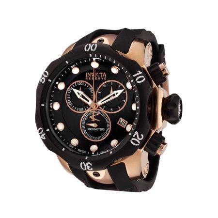 Invicta 5733 Men's Venom Reserve Chronograph Black Polyurethane And Dial Watch