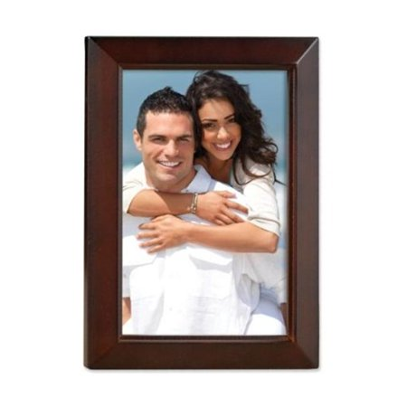 Lawrence Frames 725146 Lawrence Frames Walnut Wood 4x6 Picture Frame - Estero Collection - image 1 of 1